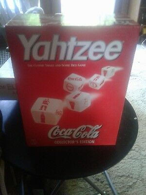 coca cola yahtzee collector edition