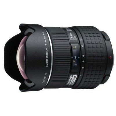 USED Olympus ZUIKO ED 7-14mm f/4 for 4/3 Excellent FREE SHIPPING
