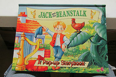 1995 Pop-Up Storybook Of Jack And The Beanstalk