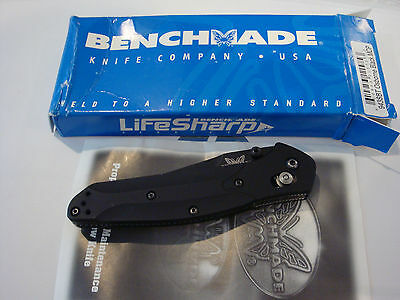 Benchmade 943SBT Osborne Black MCP - Just LifeSharp Service by Benchmade!