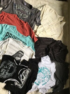 Bulk Lot Mens Clothing Size small - Medium Mossimo and DC t shirts Brand New !