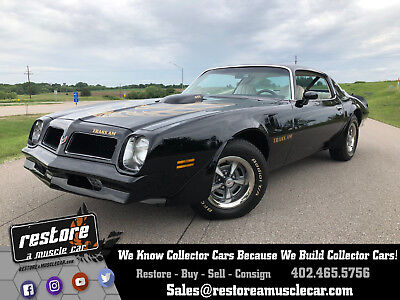 1976 Pontiac Trans Am - 4 Speed, New Paint - Black and Decals, Perfect 1976 Trans AM, 455 - 4 Speed, New Paint - Black and Decals, Perfect