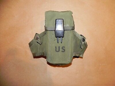 US Military Army USMC Ammo Case 30 round M16 Rifle LC1 Alice Mag Pouch 2 pcs