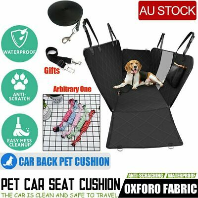 Back Car Seat Cover Hammock NonSlip Protector Mat Premium Waterproof Pet Cat Dog