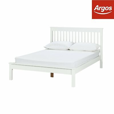 Argos Home Aspley Small Double Bed Frame - White