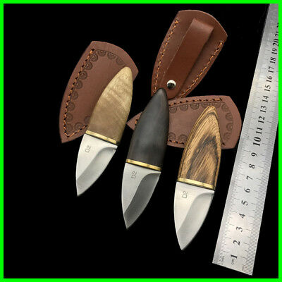 D2 Steel High Hardness Outdoor Knife Self-defense Survival Tools Hunting Camping