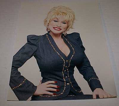 """DOLLY PARTON UNRELEASED COLOR 8 X 10"""" Promotional Picture RARE OUT OF PRINT HTF"""