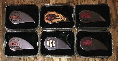 "(6) Orange County Choppers Lighters Never ""Struck"" In Original Tins"