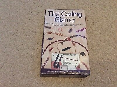 The Coiling Gizmo jewellery making design crafts wire supplies beading