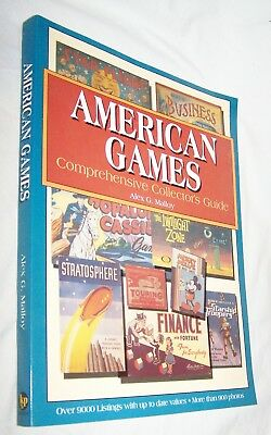 American Games Collector's Guide PB Book-Alex G. Malloy-346 pages-2000