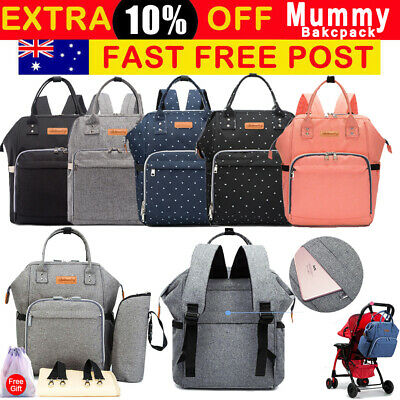 Multifunctional Backpack Baby Nappy Diaper Large Waterproof Mummy Changing Bags