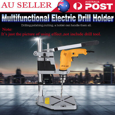 AU Seller Universal Drill Press Stand with Heavy Duty Frame and Cast Metal Base