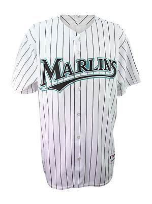 Majestic Florida Marlins Mens Authentic Team Jersey Official MLB Merchandise