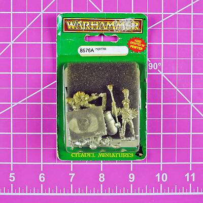 Warhammer Fantasy Empire Mortar w/ Crew NIB Metal - OOP - Games Workshop Citadel