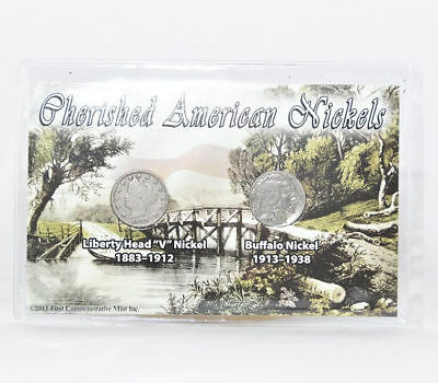 First Commemorative Mint Cherished American Nickels