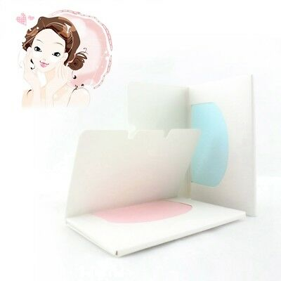 100 Sheets Make Up Oil Control Oil-Absorbing Blotting Face Clean Paper New