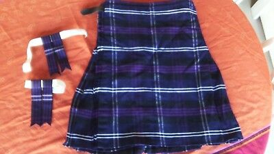 Kilt -Heritage Of Scotland  11 A 12 Ans