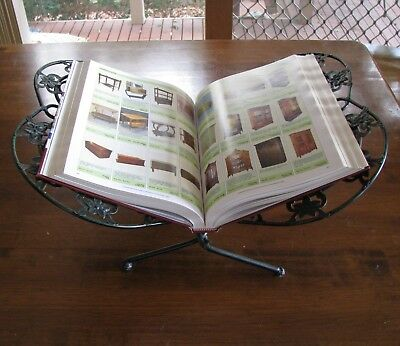 Vintage Antique Folding Open Book Stand