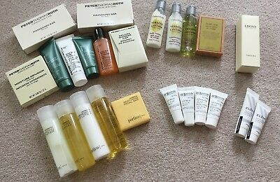 Bundle  24 Travel Minis -  Co Bigelow, Peter Thomas Roth, Elemis, Portico