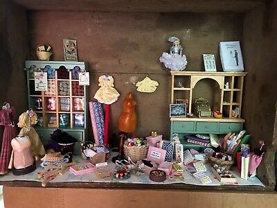 Dolls House Haberdashery Shop Contents Over 100 Items!