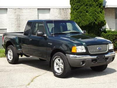 2002 Ford Ranger XLT 4X4 Off Road SUPERCAB FLARE SIDE 3.0L 77K Mls! 4WD EXTENDED CAB STEP SIDE PICKUP TRUCK BED LINER CD-CHANGER COLD AC RUNS GREAT