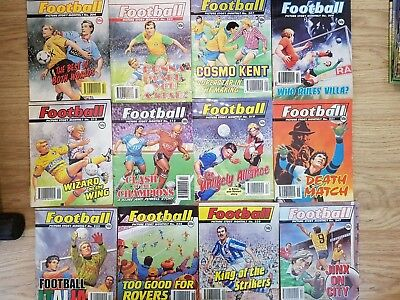 Football Picture Story Monthly 12 Issues #204-247