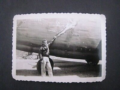 WWII PHOTO...B-24 Bomber.....nose ...# 18