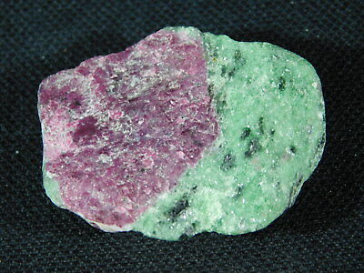 A 100% Natural Red RUBY Crystal In A Light Green Zoisite Matrix! Tanzania 26.8gr
