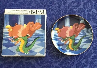 VINTAGE FANTASIA 1990 50th Anniversary Display Plate - Dance of the Hours.