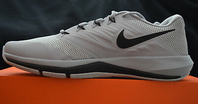 online store 2061e a6838 New In Box Nike Lunar Prime Iron II Mens Training Shoes Sz 11 Wolf Grey  Black