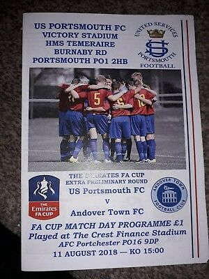 United Services Portsmouth Fc V Andover Town FA Cup Season 2018-2019