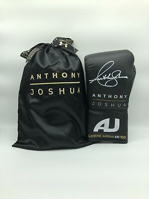 Anthony Joshua Signed Limited Edition Boxing Glove Private Signin C.O.A 🇬🇧