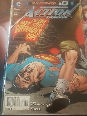 Superman Action Comics The Boy Who Stole Supermans Cape #0 Very Rare