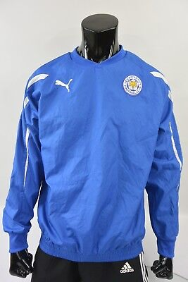 Puma Leicester City FC TRAINING Fox Football Jacket SIZE M (adults) 87ef9adde