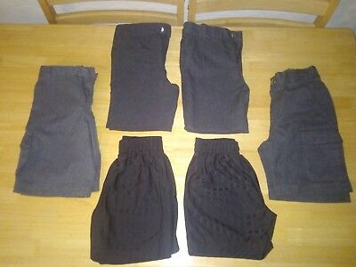Boys school uniform bundle 4-5 years /5-6 years grey trousers and shorts