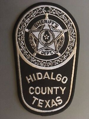 Abzeichen/Patch Hidalgo County Sheriff's Department Police USA Polizei