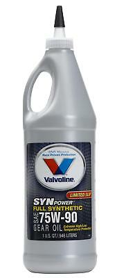 Valvoline Gear Lube High Performance 75W90 Limited Slip Additive 1 qt. Set of 12