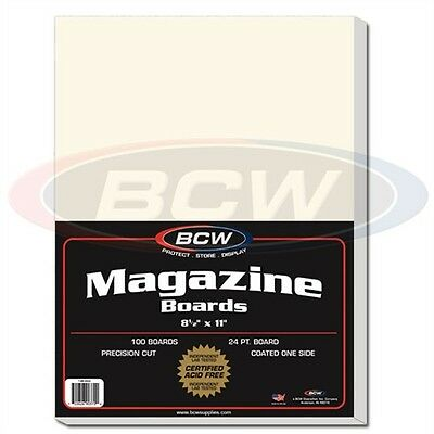 Magazine & Program Storage Backing Boards x 100 pack