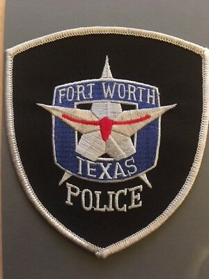 Abzeichen/Patch Fort Worth Police Texas USA Polizei
