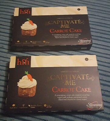 SLIMMING WORLD HiFi Bars, 2 x Boxes Of 6, Carrot Cake, LIMITED EDITION