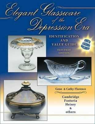 Elegant Glassware of the Depression Era : Identification and Value Guide by Gene