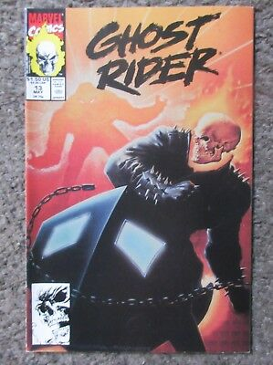 """Ghost Rider #13 May 1991 """"you'll Never See What's Coming Next!"""" Vf/nm 9.0 Oop"""