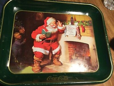 Coca Cola- Metal Used Tray- See Pics Some Wear See Pics