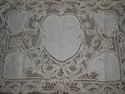Antique Italian Needle Lace Placemats 4