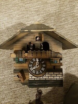 Vintage  German Coo Coo Clock 7695-703 For Repair, Musical