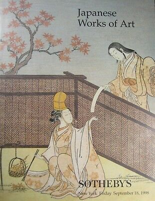 Vintage Sotheby's  Auction Catalog From September 1998 Japanese Works Of Art