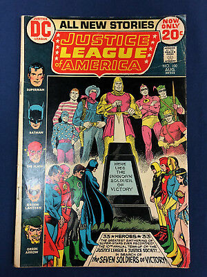 Justice League Of America #100 : Dc Comics 1972 : Classic Cover