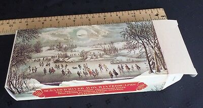Vintage Avon Christmas Soap New In Box Winter Winterscapes Currier And Ives