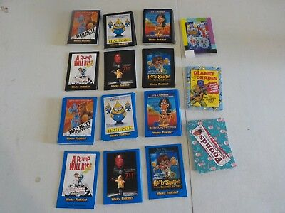 2018 Topps Wacky Packages Complete Master Set 240 Cards w/ Blue, Insert Sets