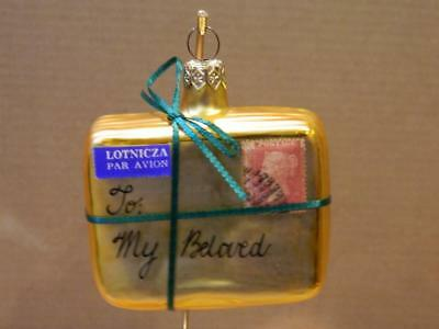 "Patricia Breen Ornament "" Letter To My Beloved""  #9537 COA Neiman Marcus 1996"